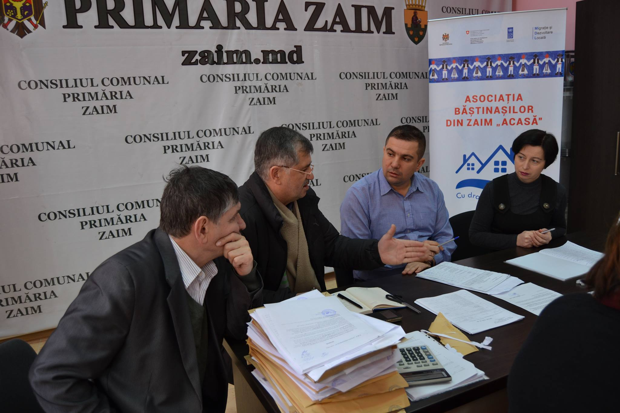 Ședința Consiliului comunal Zaim, 08.12.2017