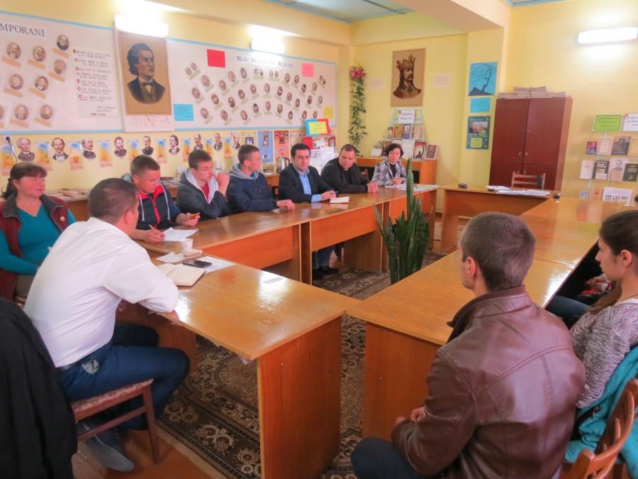 Ședința de audieri publice asupra bugetului comunei Zaim pentru anul 2018