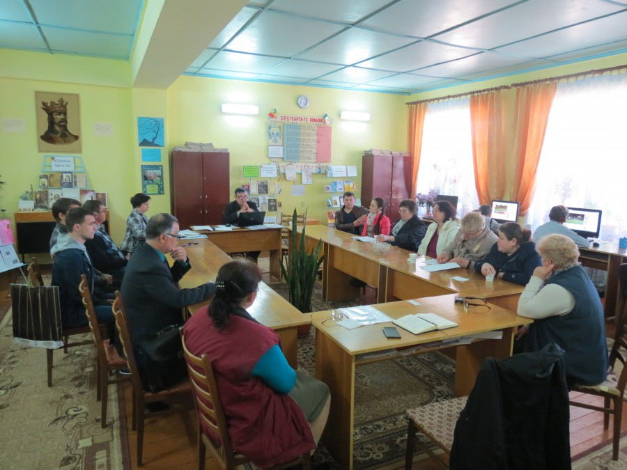 Ședința Consiliului comunal Zaim
