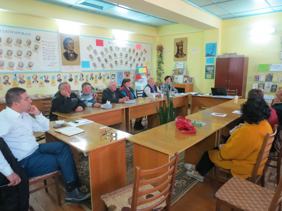 Ședința anuală a Asociației Băștinașilor din c.Zaim ACASĂ